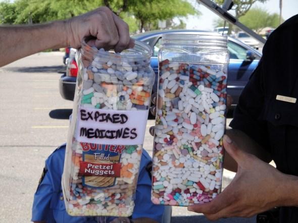 DEA take-back event pharmaceuticals waterways drug disposal