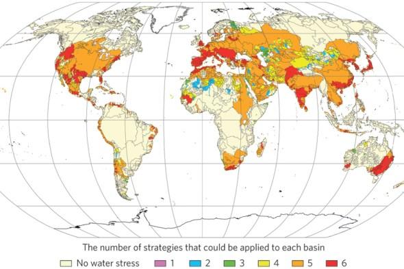 water wedges Tom Gleeson water stress 2050