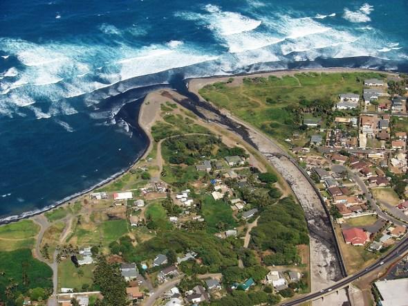 Iao Stream mouth Maui Hawaii