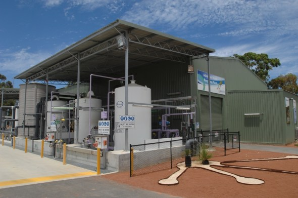 Western Australia Perth Groundwater Replenishment Scheme Water Corporation recycling drought municipal water supply