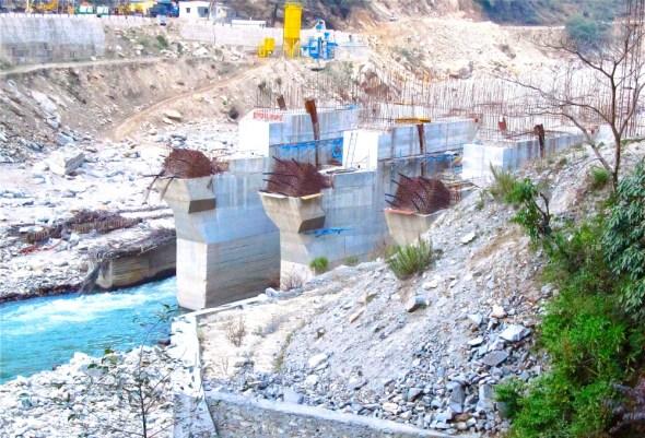 India Himalayas Uttarakhand hydropower dams floods
