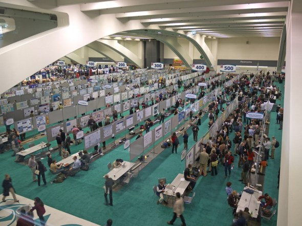 American Geophysical Union fall meeting Earth sciences