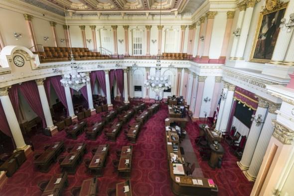 California drought Senate Legislature groundwater bill
