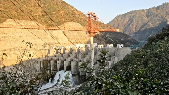 India Srinagar hydropower dam Himalaya climate change