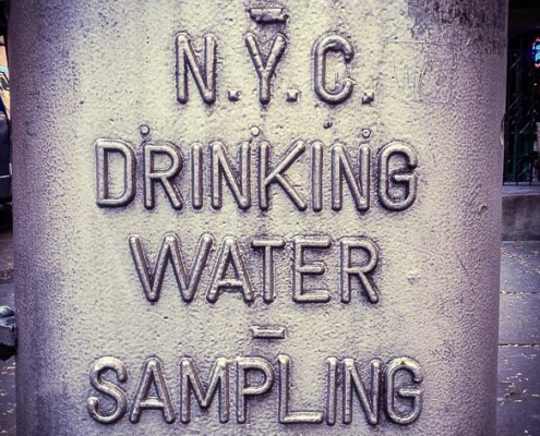New York City Tap Water J. Carl Ganter Circle of Blue