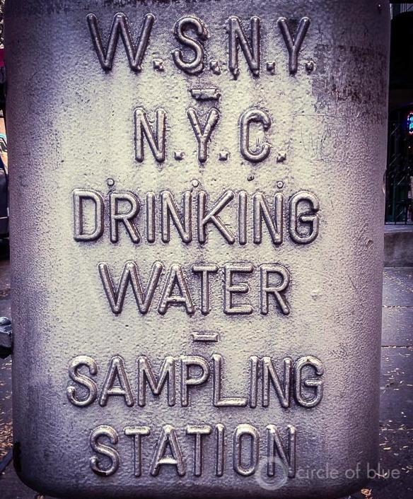 New York City Tap Water Sampling Station J. Carl Ganter Circle of Blue