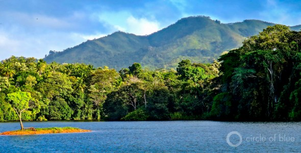 Chagres River Chagres National Park Panama land water conservation tropics Central America