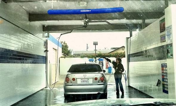 California drought Go Dirty for the Drought car wash water use Los Angeles