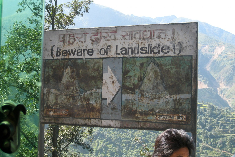 Nepal landslide May 24 Kali Gandaki River April 25 earthquake