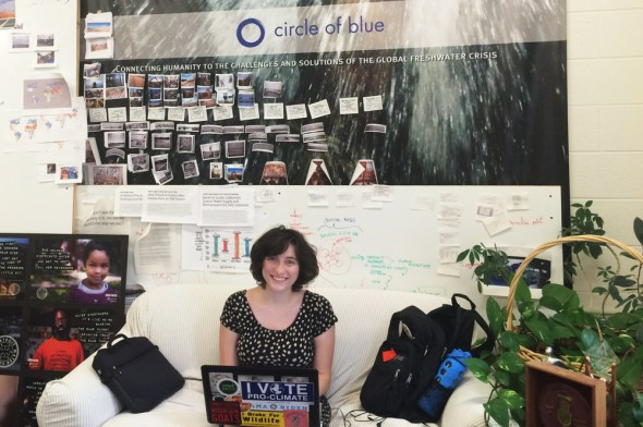 Miranda Cawley Circle of Blue Ecuador water food security water-food-energy nexus Northwestern University