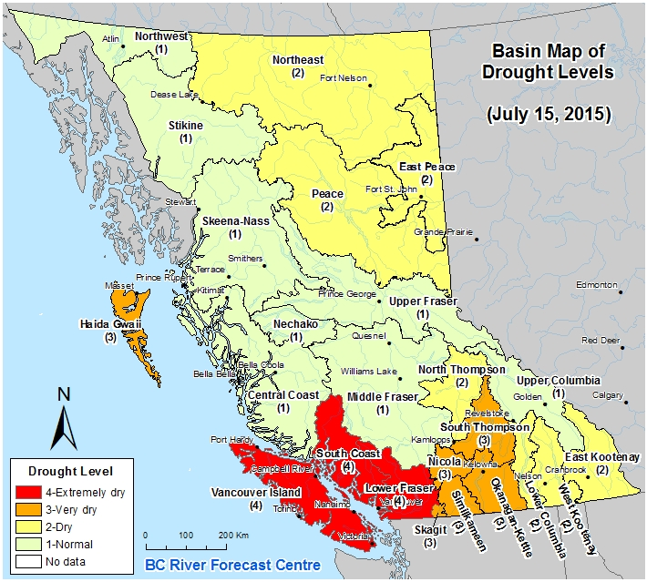 Concerns over Bottled Water and NAFTA Swirl during British Columbia Drought