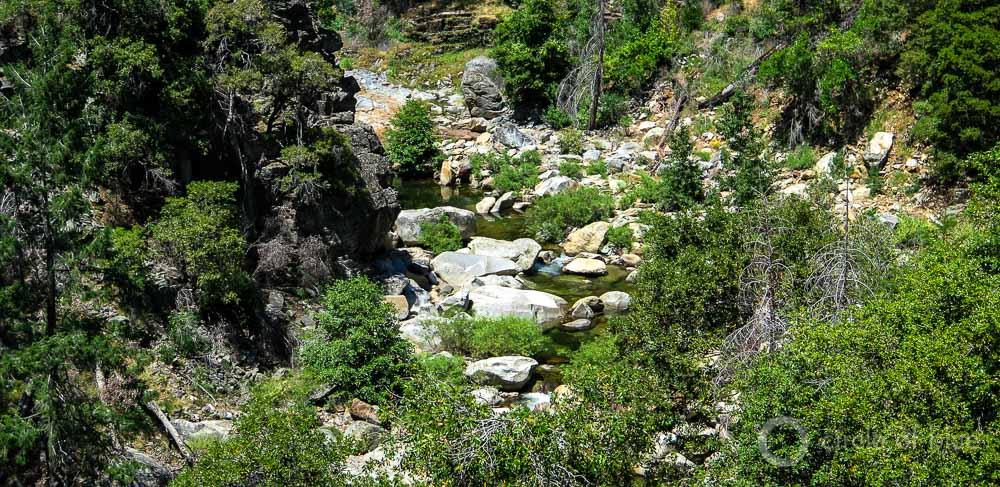 Cottonwood Creek Yosemite National Park dry river Sierras California drought