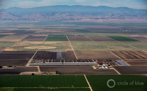 California drought Kern County agriculture irrigation aerial J. Carl Ganter Circle of Blue Maestro Conference Catalyst town hall