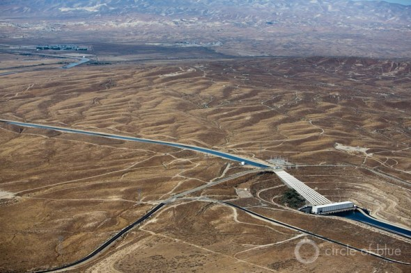 California Kern County canal agriculture drought farming Central Valley carl ganter circle of blue
