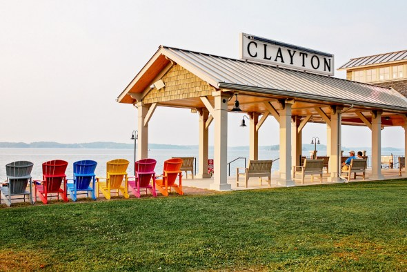 Clayton New York Thousand Islands St. Lawrence River wetlands Lake Ontario Plan 2014 Canada United States water level regulation