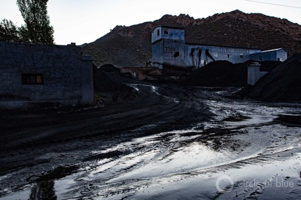 China coal carbon emissions pollution coal mine Urumqi