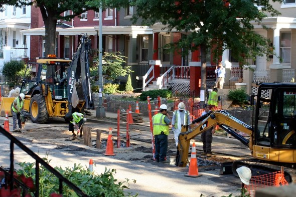 Washington DC lead service line replacement Irving Street NW water infrastructure Circle of Blue