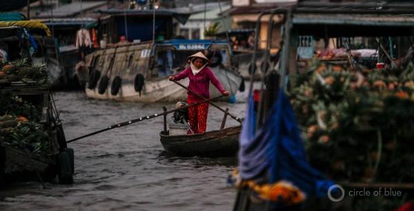 Vietnam Can Tho Mekong River