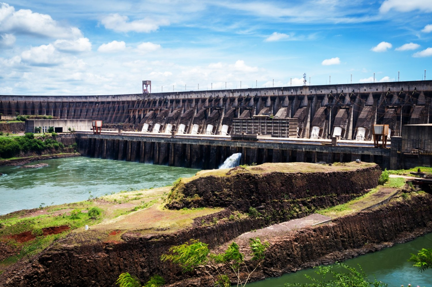 Hydropower provides more than three-quarters of Brazil's electricity. Recent droughts have called into question the reliability and economic performance of such dams. Photo courtesy Deni Williams via Flickr Creative Commons