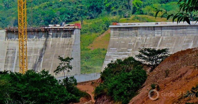 The Barro-Blanco hydropower project in western Panama has been the center of that country's most dangerous environmental opposition campaign for much of this decade. Photo © Keith Schneider / Circle of Blue