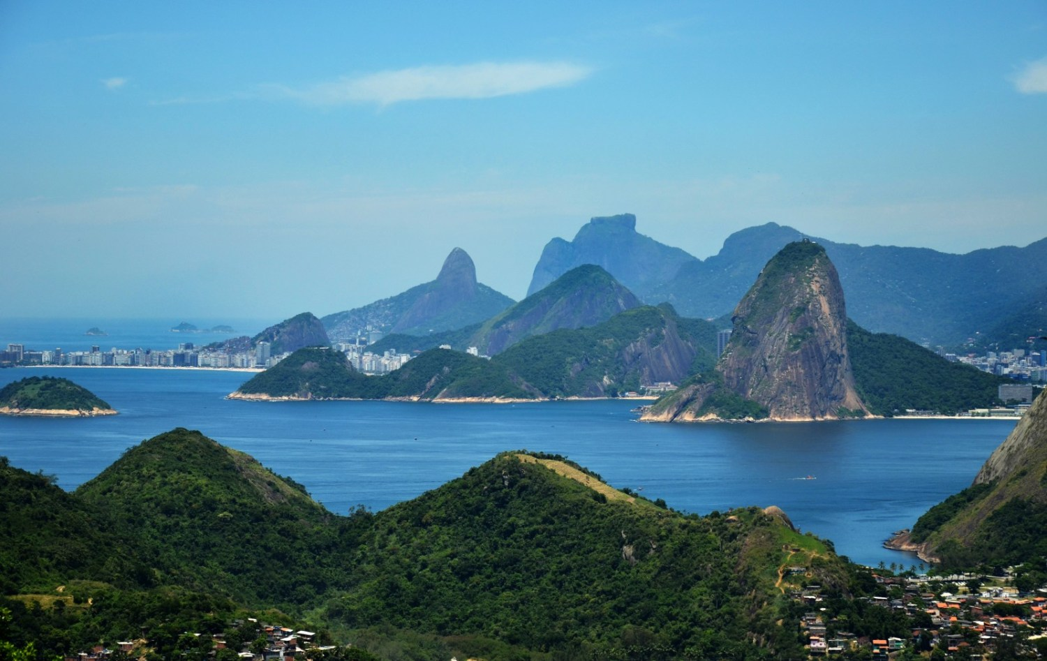 Athletes competing in the open water events at the Olympics expressed frustration about the the fixation on water quality in Guanabara Bay. Photo courtesy Rodrigo Soldon via Flickr Creative Commons