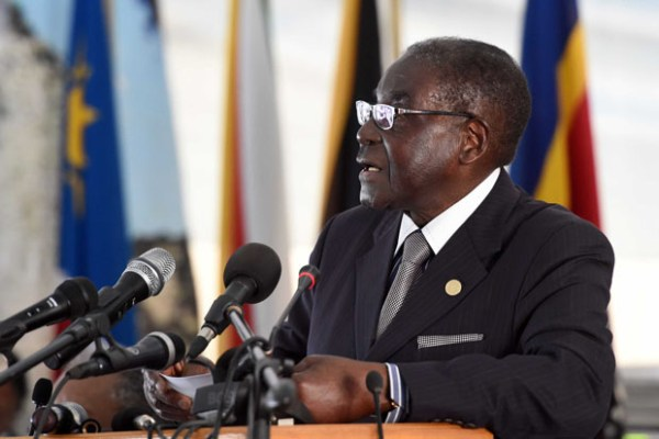 Protests this summer against President Robert Mugabe in Harare, Zimbabwe's capital city, have called for the 92-year-old leader's resignation. Photo courtesy GovernmentZA via Flickr Creative Commons