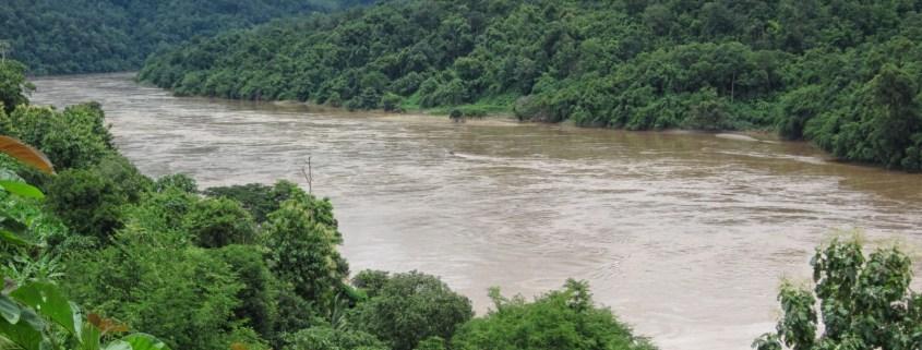 Salween River, Ban Mae Sam Laep, Mae Hong Son, Thailand photo by Ken Marshall