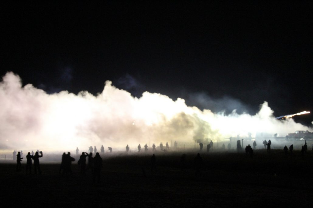 Social media has allowed hundreds of thousands of people around the world to watch events at Standing Rock unfold in real time. Photograph by Dark Sevier