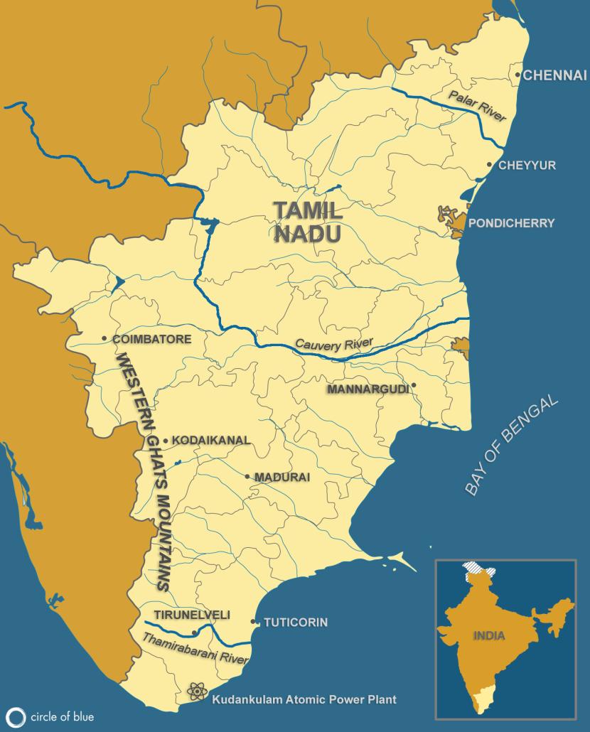 Tamil Nadu Map (all stories)