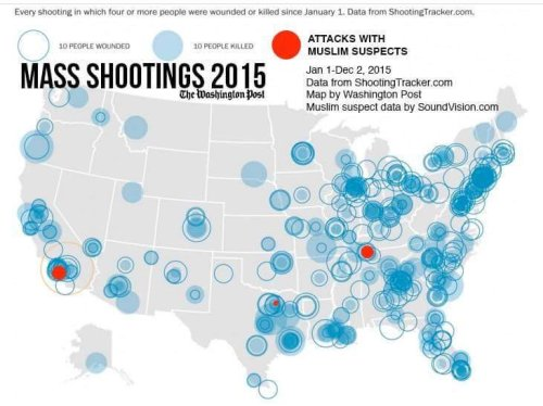 mass shootings, 2015, people killed