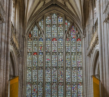 winchester stained glass, glass, mosaic