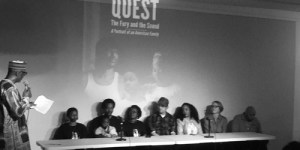 Panel discussion for Quest: the Fury and the Sound including Quest and Jon Olshefski at Circle of Hope
