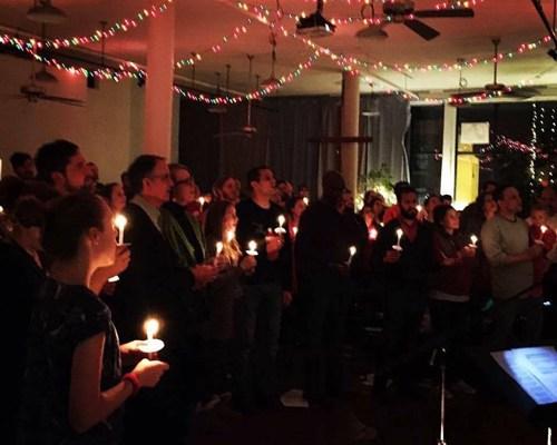 Circle of Hope celebrates Christmas Eve.