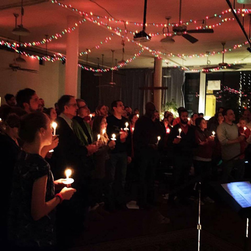 Circle of Hope celebrates Christmas Eve.