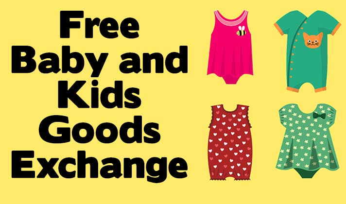 Free Baby and Kids Goods Exchange