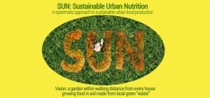 Sustainable Urban Nutrition - SUN - John McBain