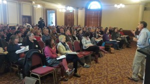 Participants at the Bendigo Community Food Hubs Conference