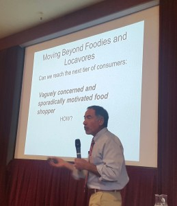 Anthony Flaccavento at the Bendigo Community Food Hubs Conference