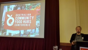 Dr Jen Alden, Bendigo Community Food Hubs conference