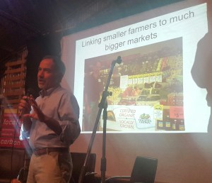 Anthony Flaccavento presenting to the Augusta-Margaret River Food and Agriculture Forum, 15 August 2016