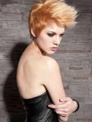 short punk hairstyles women
