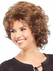 cute short hairstyles curly