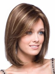 sizzling shoulder length hairstyles