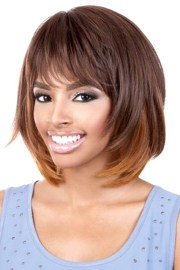curly layered bob wigs black