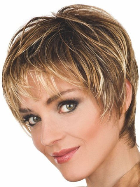 Short Spiky Hairstyles Women Page 1