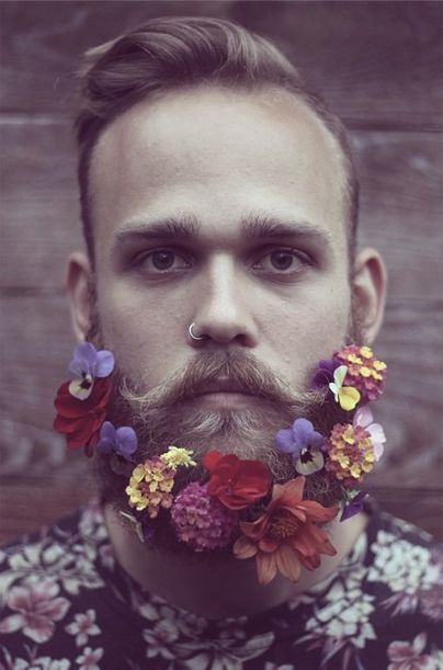 50 Ridiculously Awesome Flower Beards CircleTrest