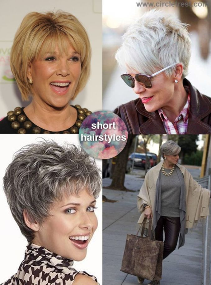timeless short hairstyles for women over 50 – circletrest