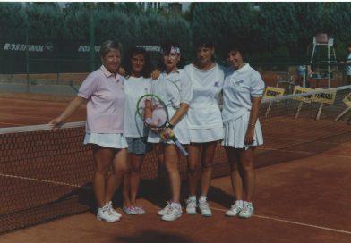Luisa De Cola, ex tennista del CUBo, Prima donna «Medaglia Natta»