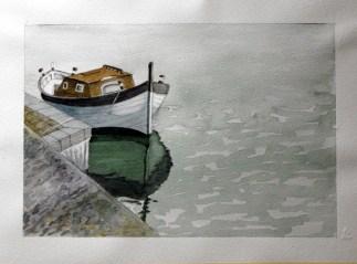 Natascia - barche - acquerello