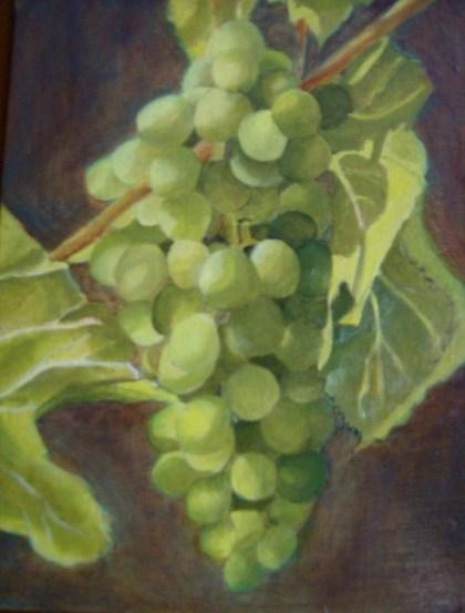 Evelina: esercitazione di pittura ad olio luglio 2011
